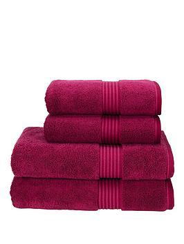 Christy Christy Supreme Hygro 100% Supirma Cotton Bath Sheet 650Gsm - Hand  ... Picture