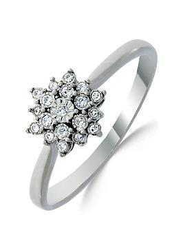 love-diamond-9ct-white-gold-10-point-diamond-flower-cluster-ring
