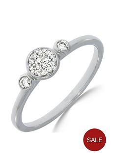 love-diamond-9ct-white-gold-10-point-diamond-three-stone-cluster-ring