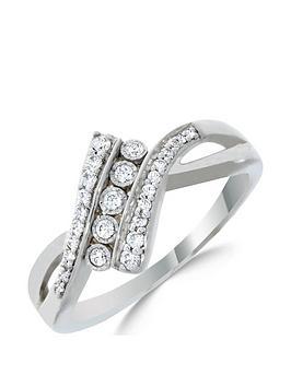 love-diamond-9ct-white-gold-20-point-diamond-twist-five-stone-ring
