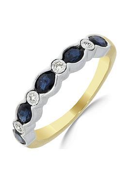 love-gem-9ct-gold-sapphire-4-point-diamond-eternity-ring