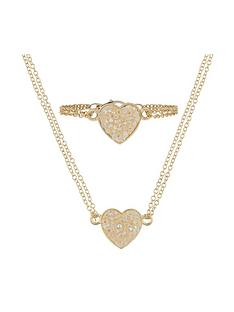 monsoon-girls-dazzle-heart-necklace-amp-bracelet-set