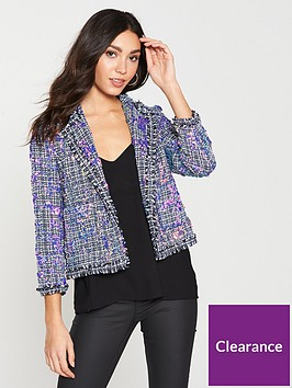 river-island-sequin-boucle-jacket--blue