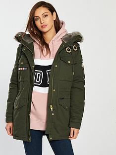 Superdry Coats   Jackets for Women   Littlewoods.com a0fab5f116