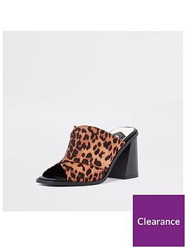 river-island-printed-strap-mule-leopard