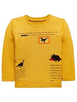 mini-v-by-very-dinosaur-patch-detail-long-sleeve-t-shirt