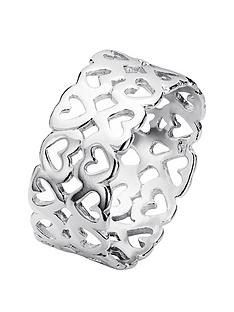 the-love-silver-collection-sterling-silver-double-row-cut-out-heart-ring