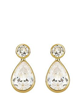 love-gold-9ct-gold-cubic-zirconia-teardrop-stud-earrings