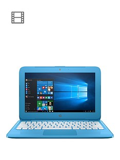 hp-stream-11-ah005na-intelreg-celeronreg-2gbnbspramnbsp32gbnbspstorage116-inch-laptopnbspwith-optional-microsoft-office-365-home-blue