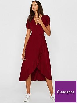 oasis-wrap-midi-dress-red