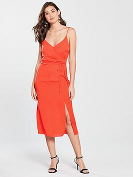 river-island-slip-midi-dress-red