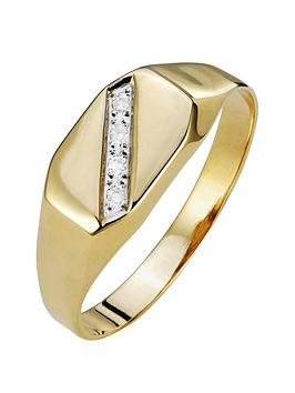 love-gold-9ct-gold-diamond-set-mens-signet-ring
