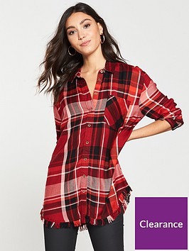 river-island-oversized-check-shirt-red