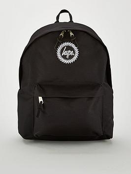 hype-badge-backpack-black