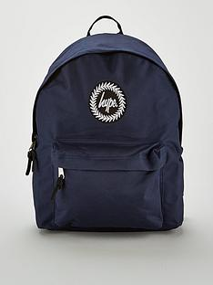 hype-badge-backpack-navy