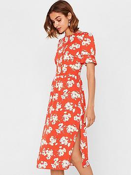 oasis-foulard-floral-midi-dress