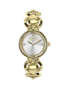 versus-versace-versus-versace-victoria-harbour-textured-silver-and-swarovski-crystal-set-dial-gold-stainless-steel-lions-head-detail-bracelet-ladies-watch