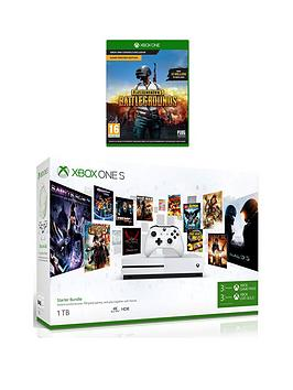 xbox-one-s-s-1tb-console-starter-kit-and-playerunknowns-battlegrounds-with-optional-wireless-controller