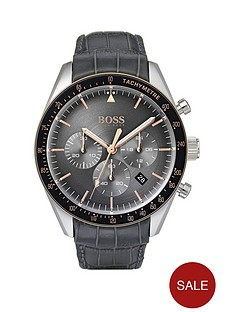 boss-1513628-trophy-chronograph-grey-dial-crocodile-leather-strap-mens-watch