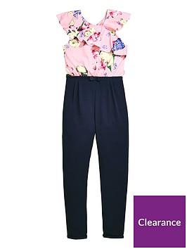 baker-by-ted-baker-girls-frill-shoulder-jumpsuit-navy
