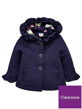 7b2ee15be Baker by Ted Baker Baby Girls Frill Hooded Jacket