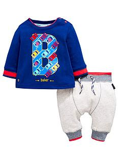 baker-by-ted-baker-baby-boys-car-print-t-shirt-amp-jogger-outfit
