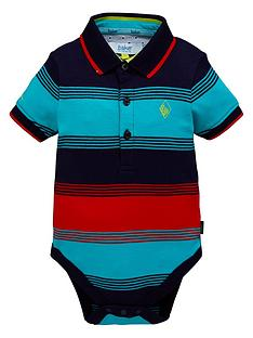f270de017 Baker by Ted Baker Baby Boys Short Sleeve Striped Bodysuit - Multi