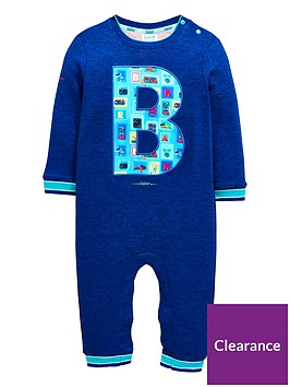 aef76a8b8663d3 Baker by Ted Baker Baby Boys Placement Sleepsuit - Blue ...