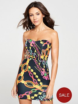 michelle-keegan-sweetheart-bandeau-bodycon-dress-print