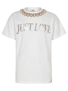 river-island-girls-white-039just-love039-t-shirt