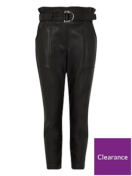 river-island-girls-black-faux-leather-belted-trousers