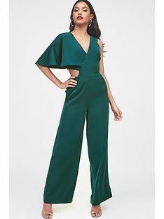 lavish-alice-one-sleeve-cutout-wide-leg-jumpsuit--nbspforest-green