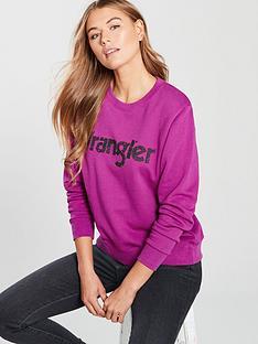 wrangler-paisley-sweatshirt-aster-pink