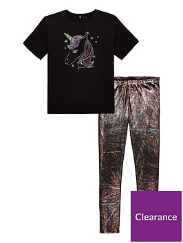 v-by-very-unicorn-tee-foil-legging-set