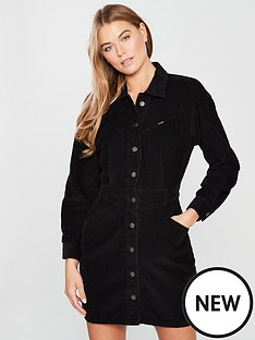 wrangler-black-cord-western-dress