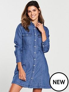calvin-klein-tencel-shirt-dress