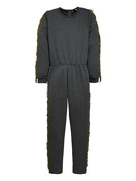 v-by-very-gold-fringe-sweat-jumpsuit