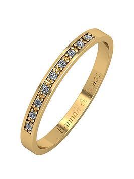 Love DIAMOND Love Diamond Personalised 9Ct Gold 5 Point Diamond 2.5Mm  ... Picture