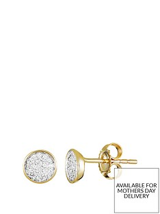 love-diamond-9ct-gold-6-point-diamond-cluster-round-stud-earrings