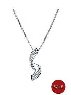 love-diamond-rhodium-plated-sterling-silver-5-point-diamond-twist-pendant-necklace