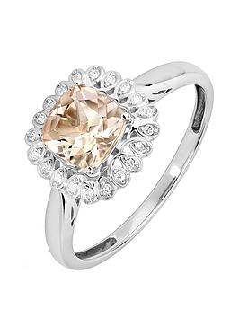 love-gem-9ct-white-gold-5-point-diamond-cushion-cut-morganite-ring
