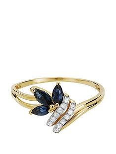 love-gem-9ct-gold-6-point-diamond-amp-marquise-sapphire-ring