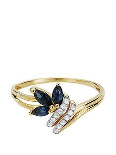 love-gem-9ct-gold-6-point-diamond-marquise-sapphire-ring