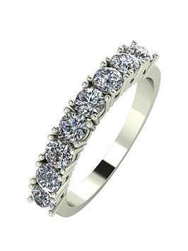 Love DIAMOND Love Diamond 9Ct Gold 1 Carat Total 8 Stone Diamond Eternity  ... Picture