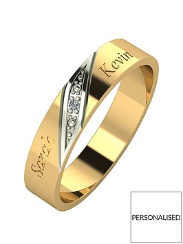 love-diamond-personalised-9ct-gold-diamond-set-4mm-wedding-band