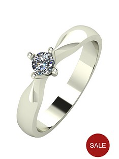 9ct Yellow Gold Diamond Engagement Rings Rings Gifts