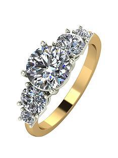 moissanite-9ct-gold-2-carat-eq-moissanite-5-stone-tapered-ring