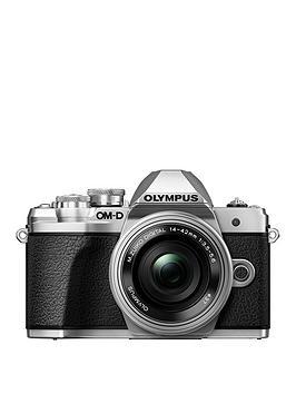Olympus Olympus Om-D E-M10 Mk Iii Silver Camera 14-42Mm Ez Pancake +  ... Picture