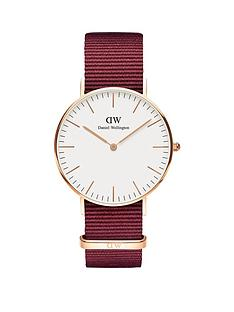 daniel-wellington-daniel-wellington-36mm-white-with-rose-gold-detail-dial-burgundy-fabric-strap-watch