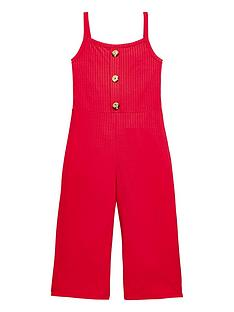 v-by-very-girls-red-rib-culotte-jumpsuit